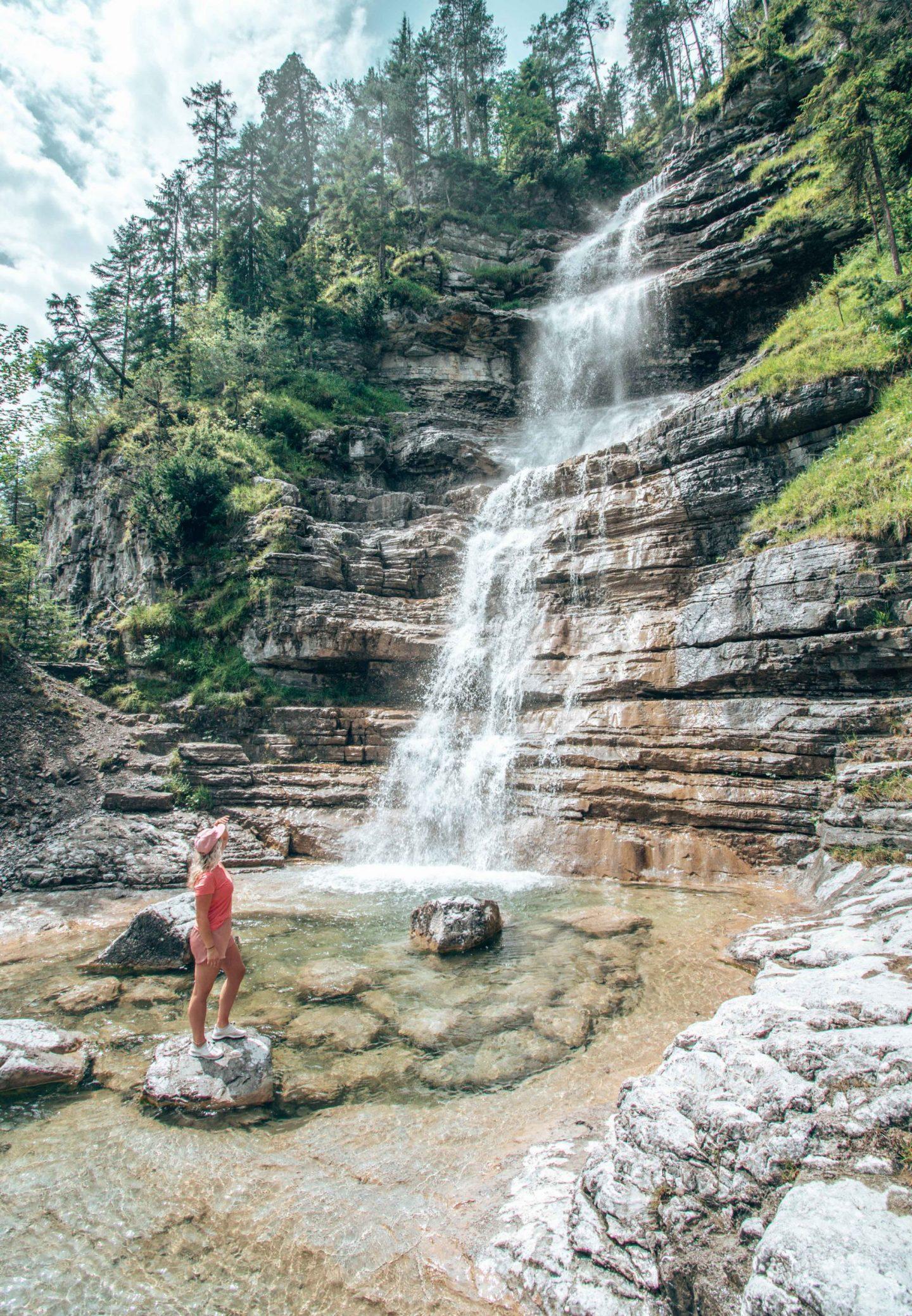 Häselgehr Wasserfall