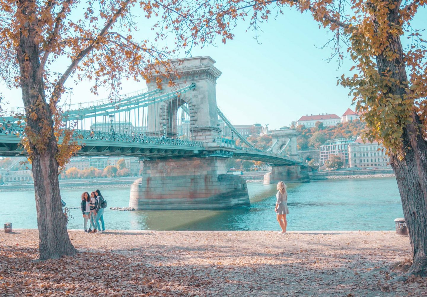 5 days in Budapest - Chain Bridge