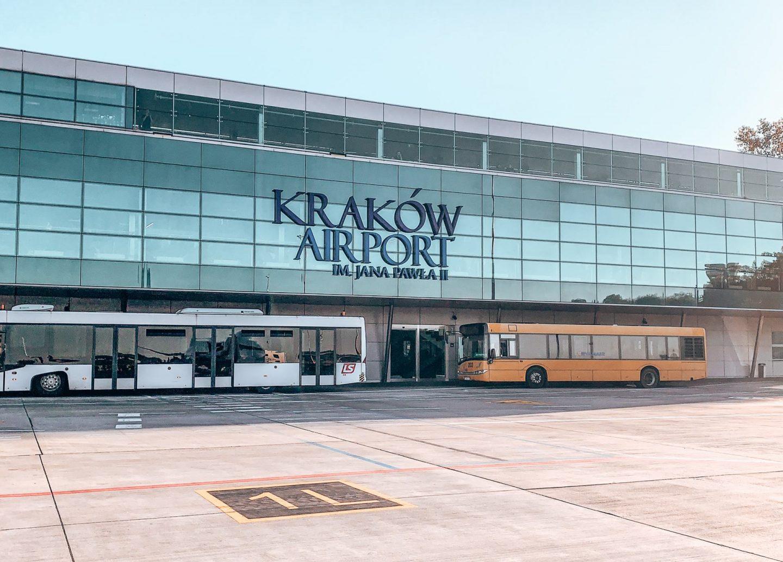 Krakau Flughafen