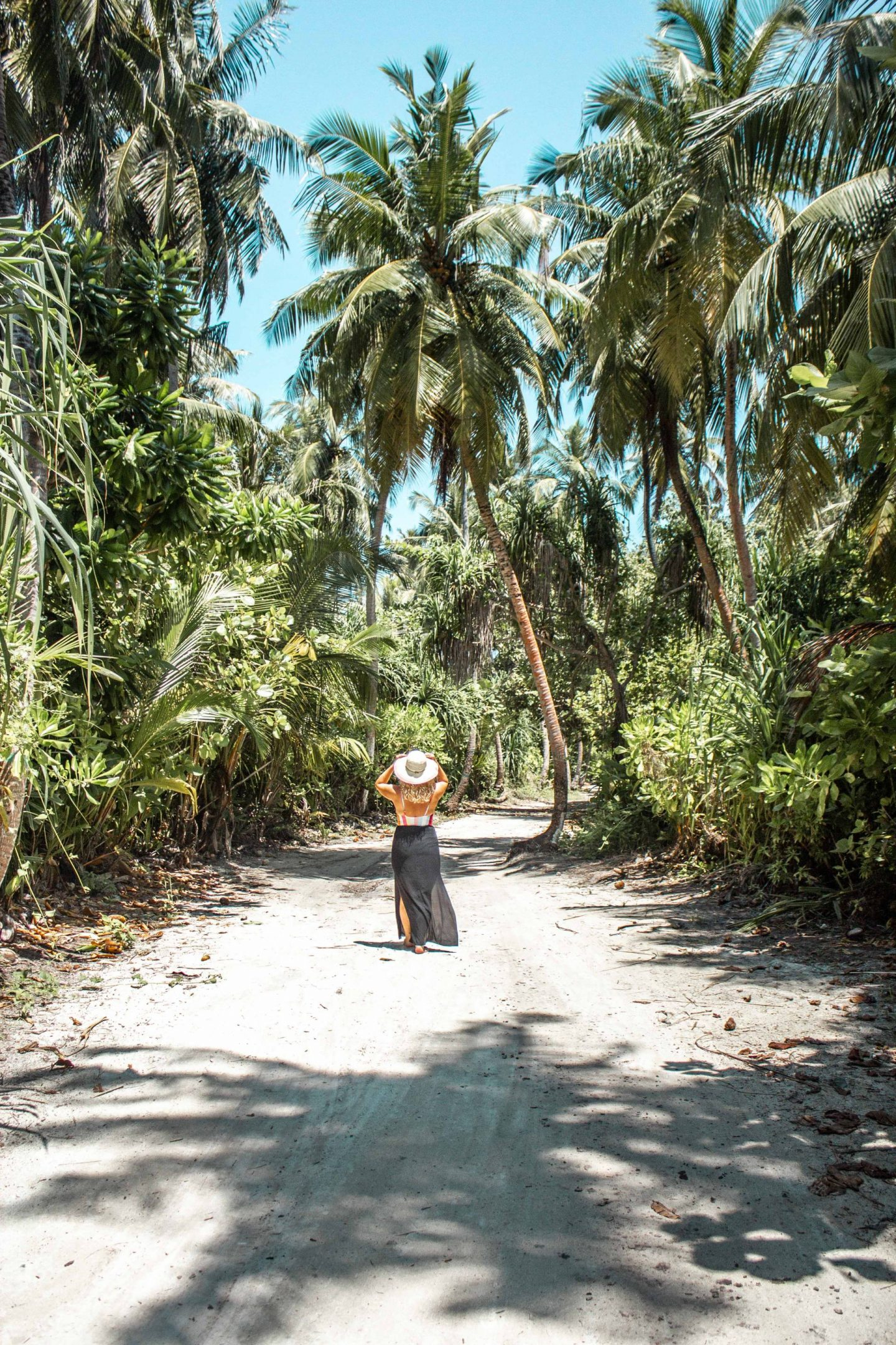 Backpacking Malediven