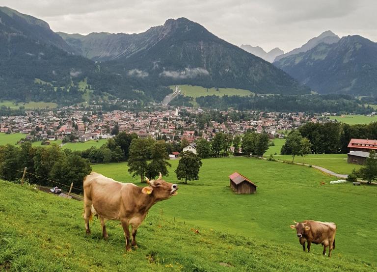 Oberstdorf, Allgäu, Bayern