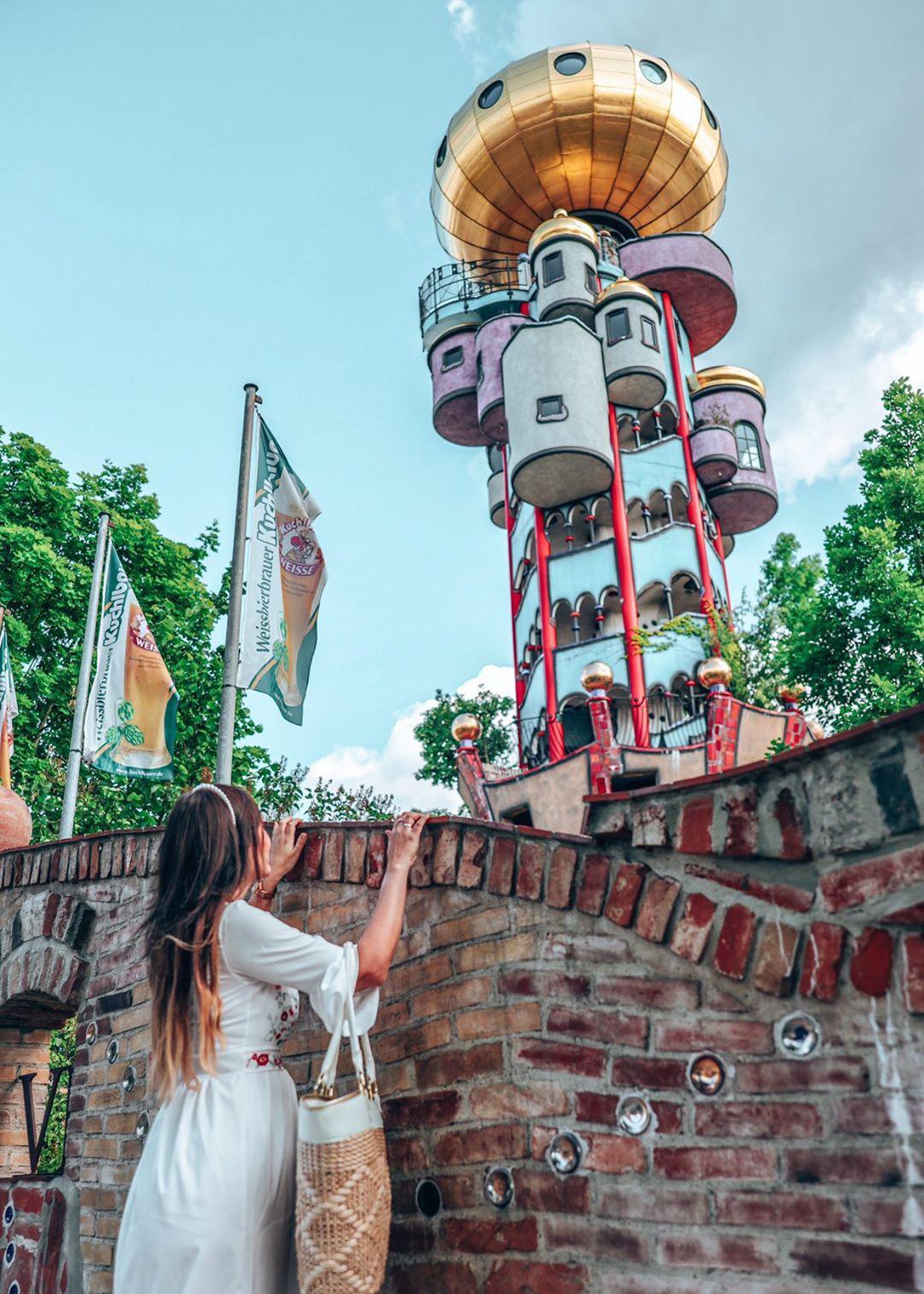 Hundertwasser Turm Abensberg